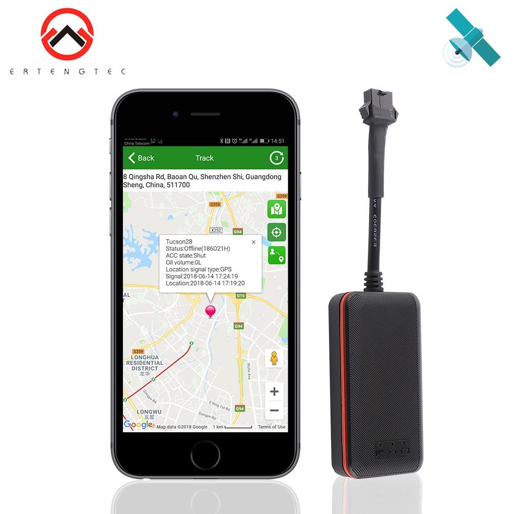 Rastreador GPS Do Carro À Prova D' Água IP66 2G/GSM Rastreador Mini GPS Locator Óleo de Corte de Excesso de velocidade de Vibração Alarme Geo- cerca GPS трекер