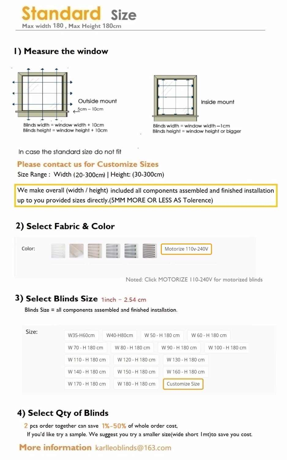 70% Blackout Jacquard Shangrila Roller Blinds Shades Curtain (Manual) OR (Motorize) Customize Size