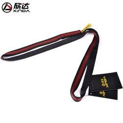Xinda 22kn 60 cm-220 cm poliéster escalada sling rolamento cinta reforçar corda cinto de carga bandlet mountaineer equipamento