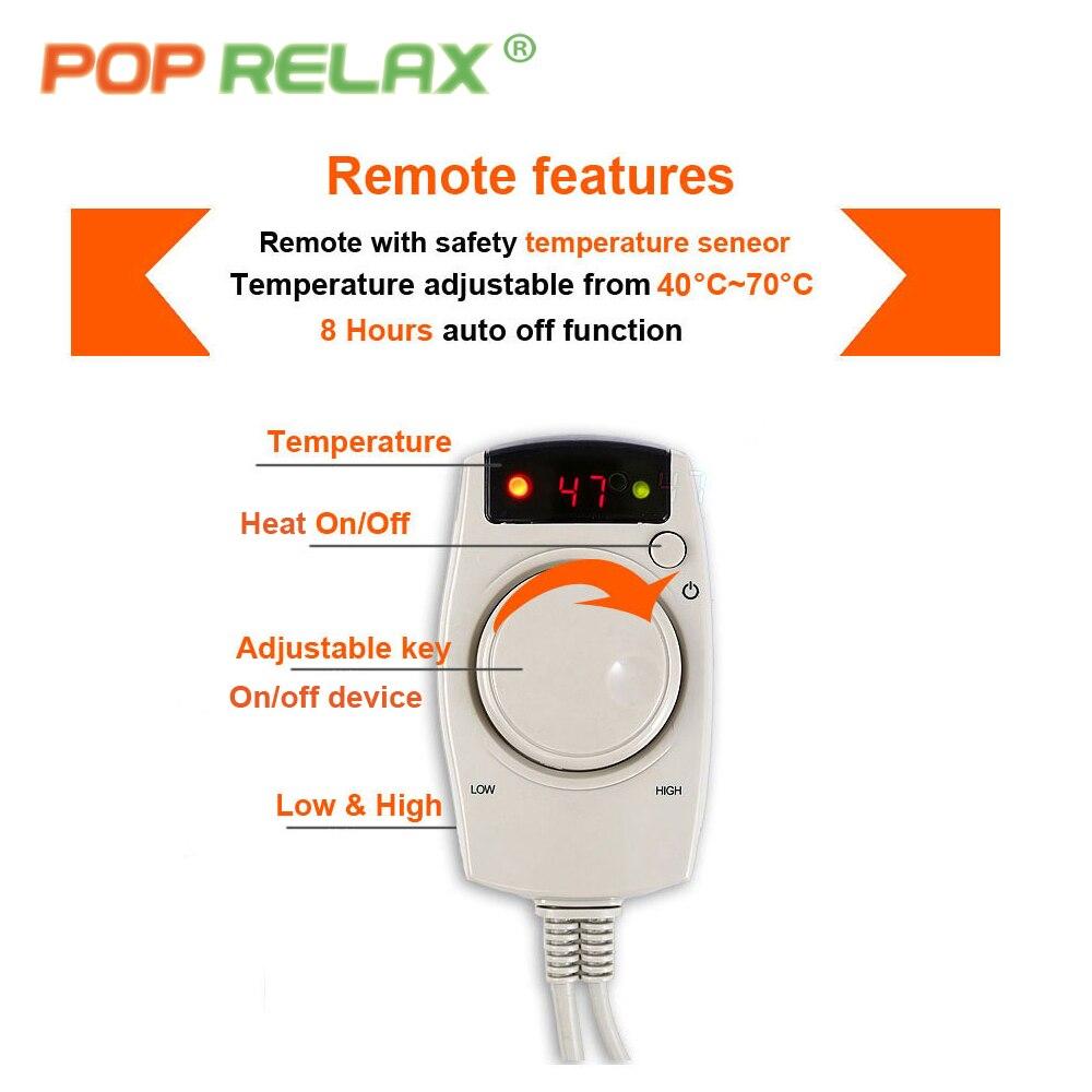 POP RELAX Korea terapi pemanasan tikar AB dua sisi haba germanium - Penjagaan kesihatan - Foto 5