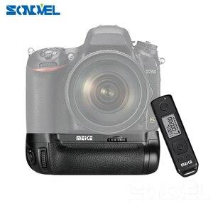 Image 5 - Meike MK DR750 Battery handle Built in 2.4g Wireless Control Battery Grip for Nikon D750 AS MB D16 Wireless +EN EL15 Battery