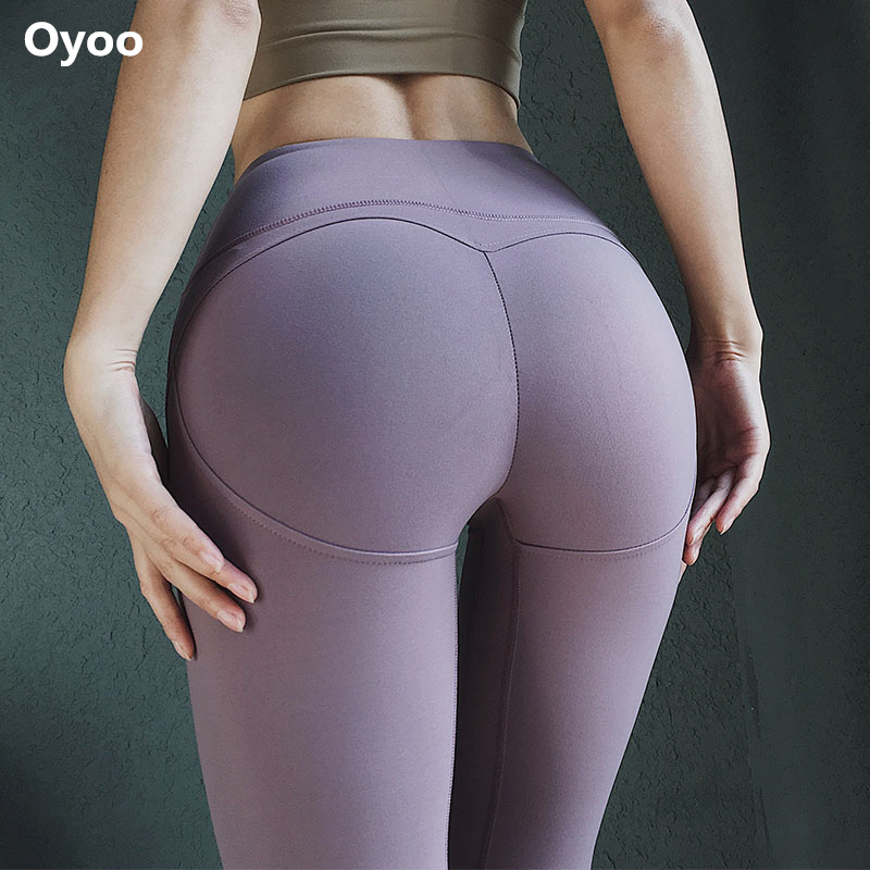 Oyo booties push up fitness leggings women workout yoga pants sexy slimming leggins sport women jogging tights exercise pants lingerie top
