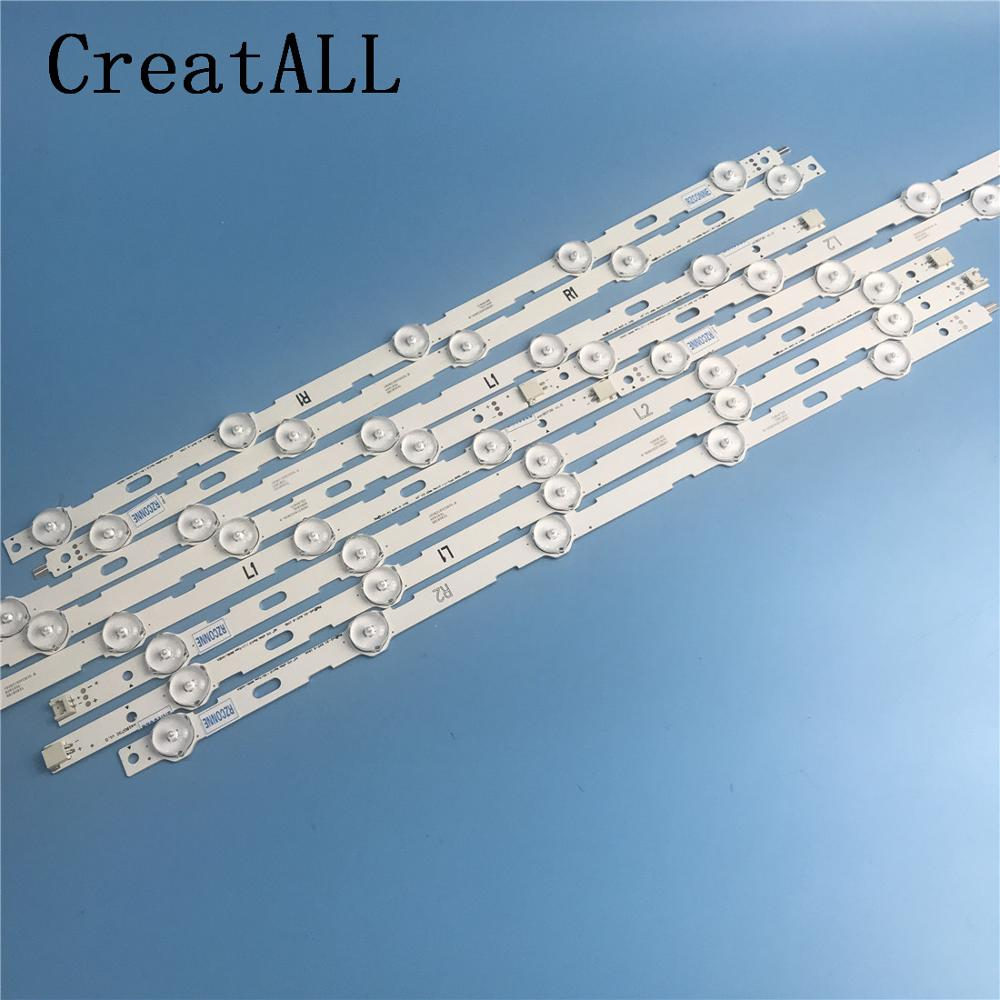 Creatall 839mm LED Backlight Strip 10leds For LG 42 Inch LCD TV 42LN5200 6916L-1402A