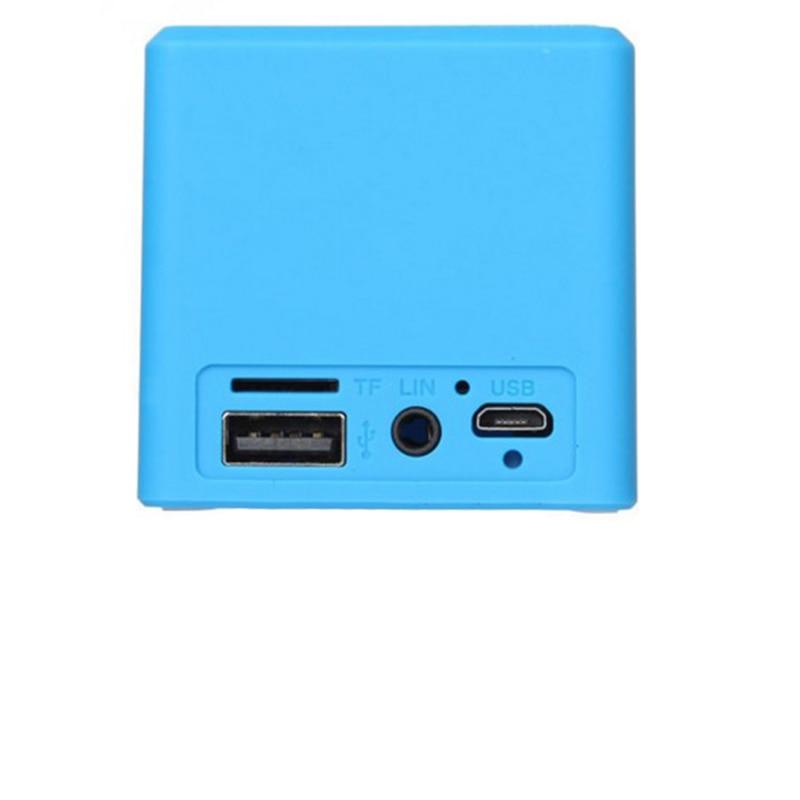 2019 USB mini haut-parleur d'ordinateur de bureau en plein air portable haut-parleur portable haut-parleur pas cher double haut-parleurs avec paquet de détail 6 couleurs - 5