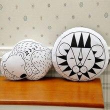 Modelos de explosión almohada almohada fresca león Dormido Oso de la almohadilla DEL BEBÉ imágenes de fondo