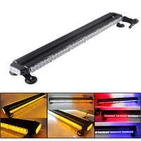 78LED Car Warning Flash Strobe Light Bar Tractor Agricultural AVT Offroad Emergency Security LED Lights Bar Amber Red White Blue