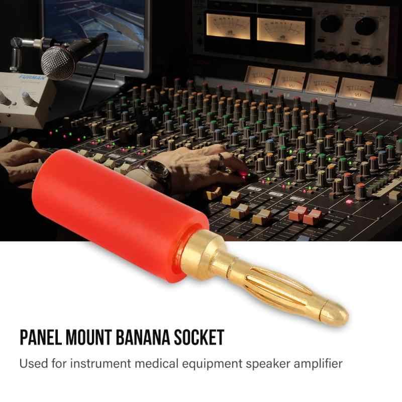 20 шт./компл. 2 мм Разноцветные Banana Plug Jack Тесты зонды разъем для усилитель