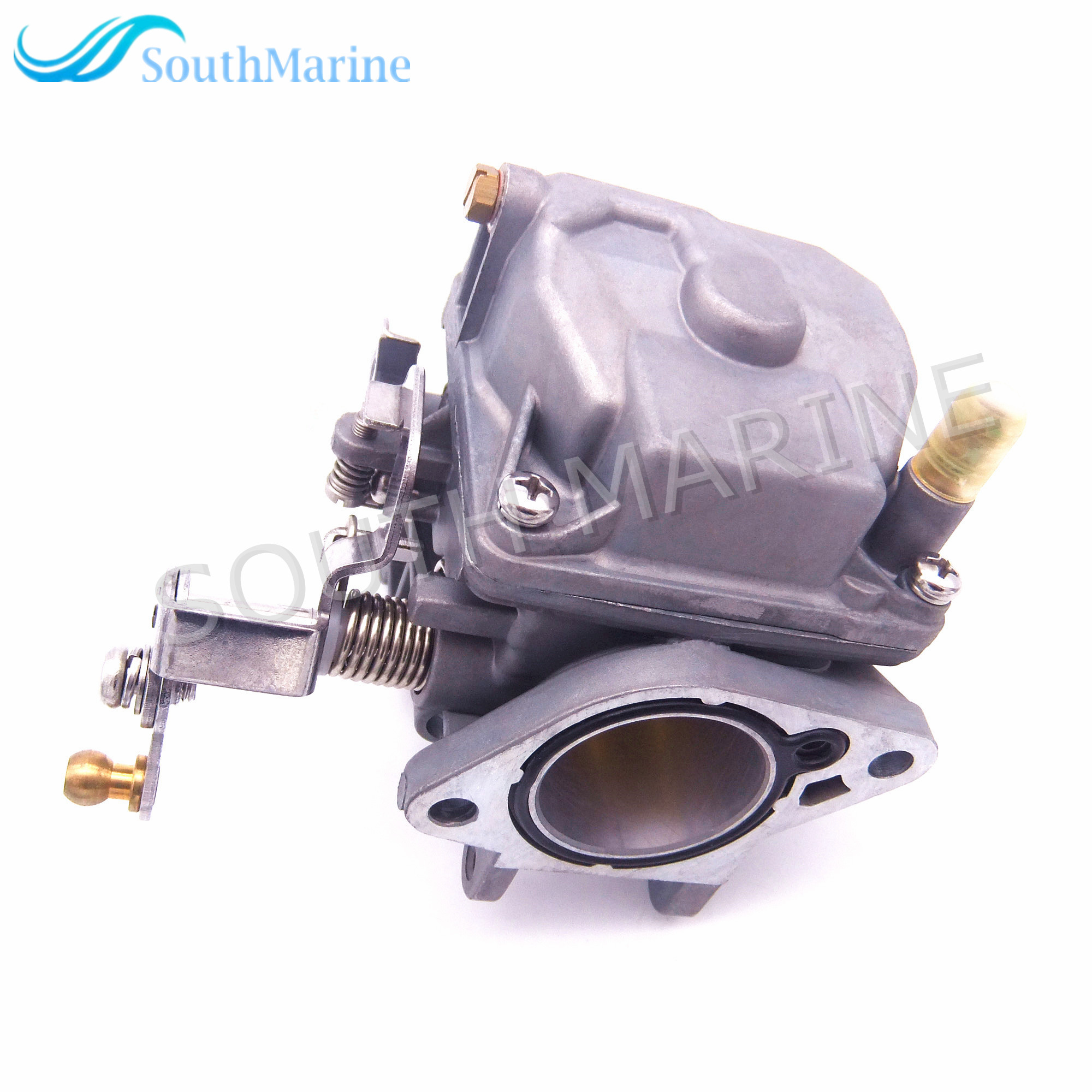 Outboard Engine Carburetor Assy 30F-01.03.03.00 for Hidea 2-stroke 25F 30F Boat Motor Free Shipping 6b4 45501 10 driver shaft long for yamaha 9 9hp 15hp 2 stroke 15d outboard engine boat motor aftermarket parts 6b4 45501