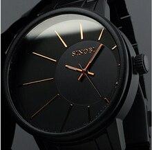 2016 Nuevos Hombres De Acero Completo Reloj de Pulsera Relojes Hombres Marca de Lujo Reloj de Los Hombres Reloj de Cuarzo Relojes Relogio B035