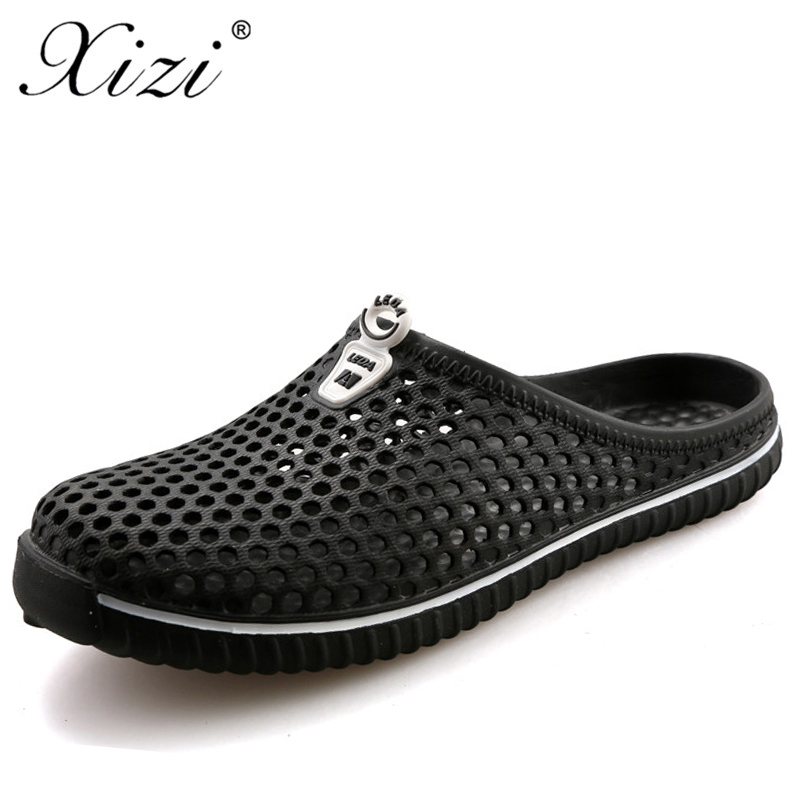 c74a9a81421 Detail Feedback Questions about Xizi Men s Summer Shoe Sandals Breathable  Beach Slip On Flip Flops Mens Slippers Lighted male versae Outdoor Shoe Big  Size ...