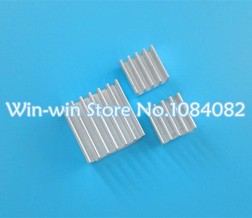 300pcs lot For Raspberry PI Pure Aluminum Heat Sink Set Kit 300pcs Chip heat sink 14