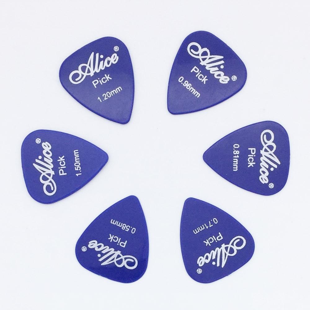 6 piese chitara Alice cu 1 culoare grosime completa 0,58 0,71 0,81 - Instrumente muzicale - Fotografie 5