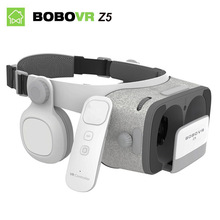 Bobovr Z5 vr box 3d glasses virtual reality goggles gafas google cardboard bobo vr with headset For 4.3-6.0 inch smartphone