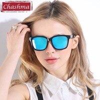 Chashma Brand TR 90 Oversized Sunglasses Women Plastic Casual Outfits Glasses Feminino Look Stylish UV400 Colorful