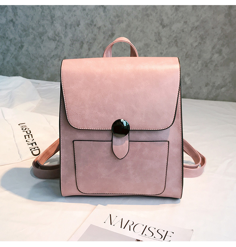 565b2db847c4 Cute Small Leather Travel Backpack Purse Retro Style Backpacks For College  School Students Teenager Christmas Gift