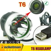 Led Headlight XM-L T6 Headlamp Bike Light Bicycle Headlight LED Light