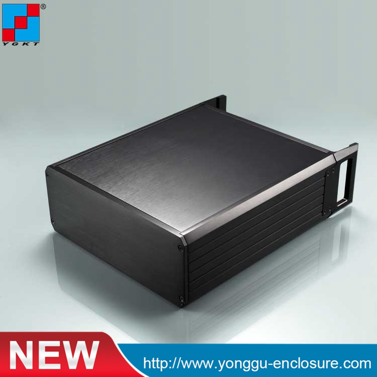 2U Aluminum Box Enclosure Case- 229*88-250 mm ( w*h-l) 2U-aluminum instrument chassis communication networks aviation chassis diy hifi amplifier enclosure extrusion aluminum enclosure housing shell box 180 88 250 mm w h l