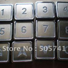 Горячая распродажа! Кнопки для лифта ZL-28 лифт кнопка A4N11286, конкурентоспособная цена с высоким качеством A4J11283