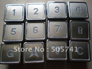 Sıcak satış! Asansör basma düğmesi ZL-28 asansör basma düğmesi A4N11286, yüksek kalite ile rekabetçi fiyat A4J11283