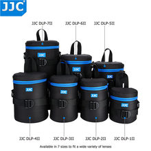 JJC Deluxe Waterbestendig Lens Pouch Polyester Tas voor Canon Nikon SONY Sigma etc. lenzen Extra fit JBL Xtreme Bluetooth Speaker(China)
