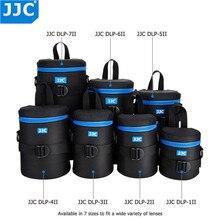 JJC su geçirmez kamera Lens kılıfı kılıfı çanta Canon Sony Nikon Olympus Panasonic Fujifilm JBL Xtreme yumuşak DSLR Lens koruyucu