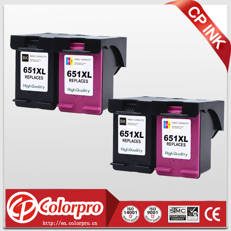 CP 651 Wholesale For HP 651XL 651 Ink Cartridge for HP Deskjet 1115 2135 2136 2138