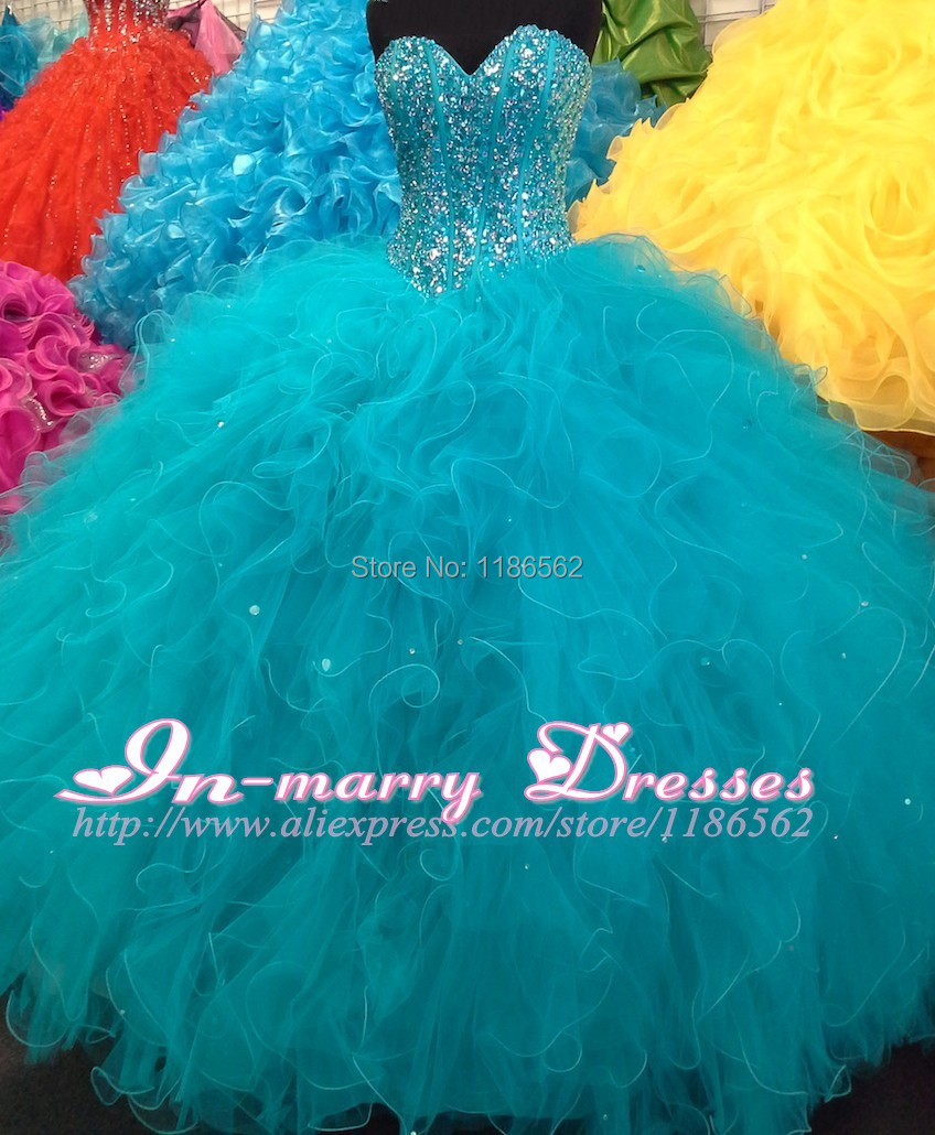 Popular Teal Quinceanera Dress-Buy Cheap Teal Quinceanera Dress ...