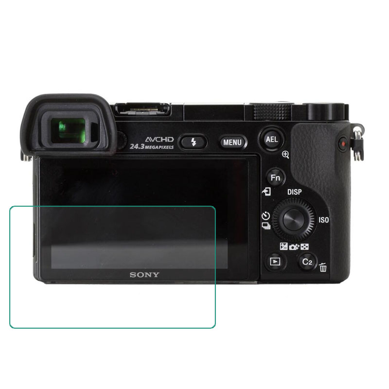 GGS IV Self-Adhesive Optical Glass LCD Screen Protector for Sony A6000 A6300 Camera