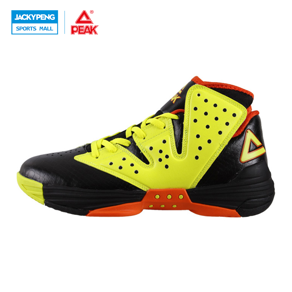 PEAK Basketball Shoes Monster VI New Men Botas Hombre Basket Homme 2017 Cushion-3 Tech Athletic Ankle Boots Training Sneaker original li ning men professional basketball shoes