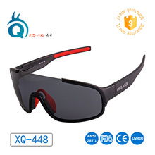 XQ-HD Polarized Sports Sunglasses, with 2 Pairs Of Replaceable Lens,UV