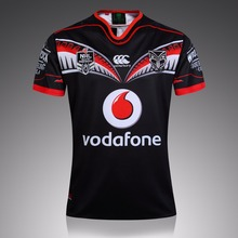 In 2016 New Zealand first leader warriors rugby team super football jersey naval laboratory S – XXXL