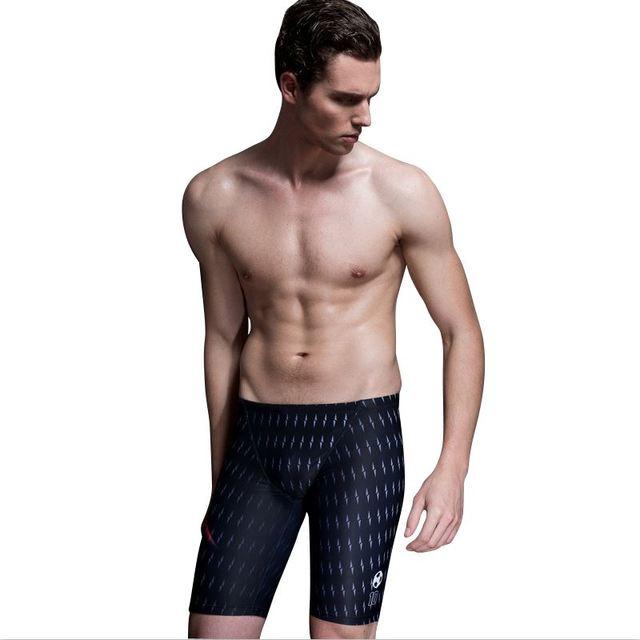 e6424be627 Print Men Swimwear Trunks Arena Bather Pool Sunga Swim Surf Bathing Sport  Suit 2019 Shorts Tight Beach Wear Swimsuit Large Size
