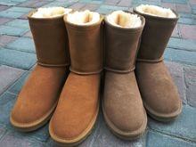 hot deal buy australia winter women's warm femme boots women snow boots snow boots leather non-slip multi-color optional women size 34-44