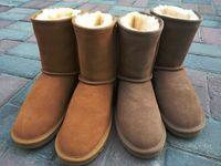 Australia Winter Women's Warm Femme Boots Women Snow Boots Snow Boots Leather Non slip Multi color Optional Women Size 34 44