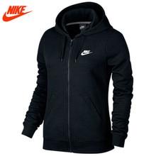 8d4b0a70 Оригинал Nike женские тонкие дышащие Весенняя новинка вязаная куртка с  капюшоном(China)