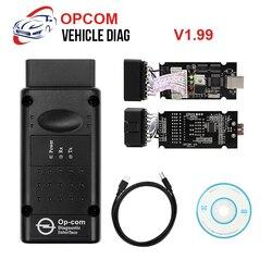 OPCOM OBD2 Scanner Code Reader ABS Transmission Car Diagnostic Tool V1.99/V1.70/V1.78 with PIC18F458 Chip OP COM OBD2 Flasher