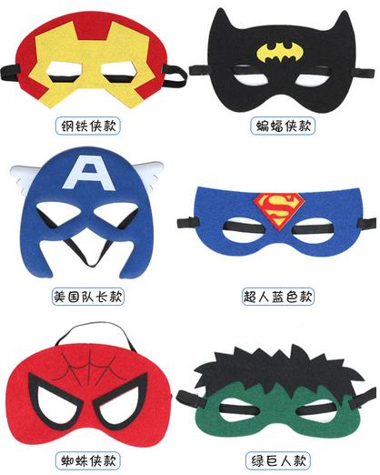 2016 <font><b>New</b></font> <font><b>Super</b></font> <font><b>hero</b></font> <font><b>mask</b></font> <font><b>kids</b></font> <font><b>eyemask</b></font> <font><b>cosplay</b></font> <font><b>superman</b></font> <font><b>mask</b></font> batman <font><b>cosplay</b></font> <font><b>mask</b></font> captain america spiderman <font><b>kids</b></font> Satin <font><b>mask</b></font>