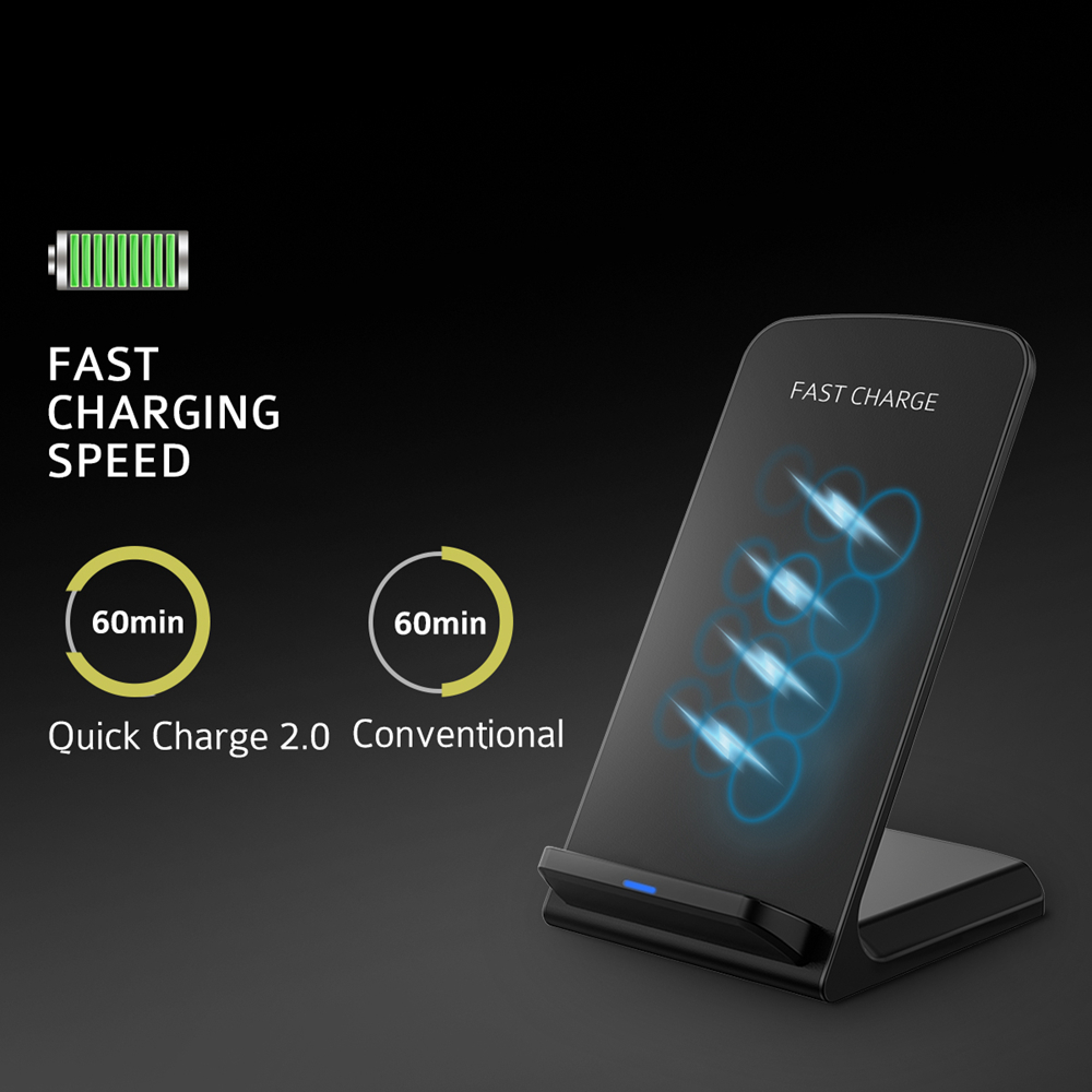Wireless charging homemade cheap samsung galaxy note gt n7000 - Original Quick Charge 2 0 Wireless Charger Fast Charging Qi Wireless Stand For Samsung Galaxy S7 Edge S6 Edge Plus Note 5
