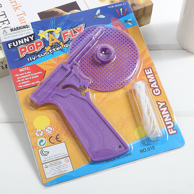 1 to 4 Pack Fly Swatter Gun Shooting Mosquito Pest Killer Bug Eliminator Spider Catcher Insect Shooter Buginator Flygun Pistol 1