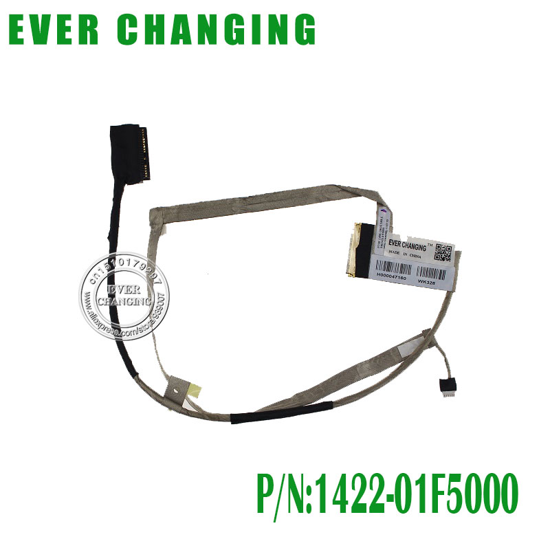 US $6 44 8% OFF|New PT10F 1422 01F5000 LVDS CABLE FOR TOSHIBA C50 C50 A C55  C50D LCD LVDS CABLE-in Computer Cables & Connectors from Computer & Office