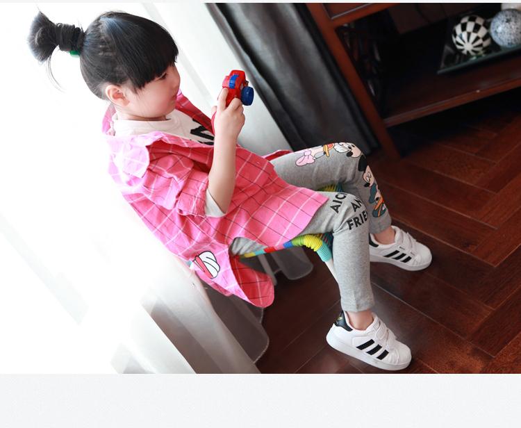 Fashion Cotton mickey Girls Pants Cartoon minnie Girl Leggings Baby Pants Kids Trousers Children Legging Girl Clothing 4 colors 10