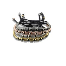1pc2016 Top Quality Design Metal Regula box CZ Bead Chain Bracelets & Bangles Luxury Kors rope For Women Unisex Brand Bracelet