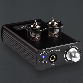 XDUOO TA-02 Tubo amplificador de Auriculares Estéreo de Alto Rendimiento de Doble AMPLIFICADOR de Válvulas Clase A + BUF