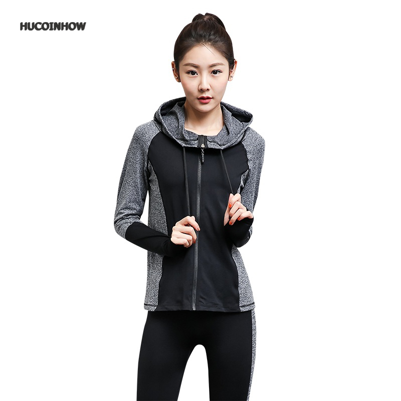 Women Sport Yoga Sets for Running Gym Sportswear Sports Top Gym Quick Dry Jackets Elastic Capris Fitness Tights Suit for Woman woman yoga sets sports bra and leggings female slim sportswear running jogging women s fitness gym stretch sport suit clothing