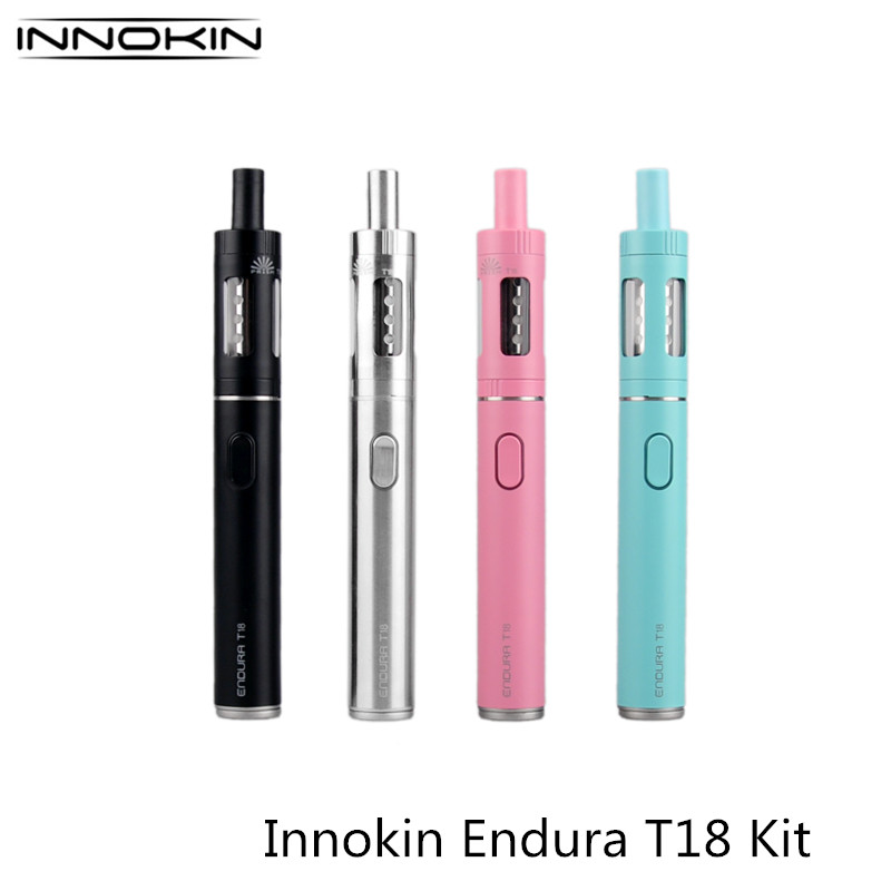 Фото Original Innokin Endura T18 Starter Kit 1000mah Battery With 2.5ML Atomizer Tank Electronic Cigarette Hookah Vaporizer