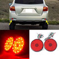 For Toyota Highlander 2008-2010 Red Rear Bumper Reflector Fog Tail Warn Lights