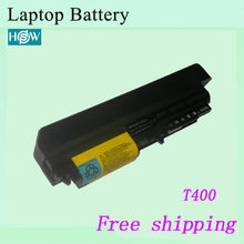 High quality Laptop Battery For IBM For Lenovo ThinkPad T61 T61p R61 R61i T61u R400 t400(China)