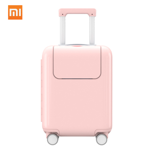 Image 2 - Xiaomi Mitu Suitcase Kids Travel Luggage Suitcase 17Inch Trolley Wheeled Suitcase With Cartoon Sticker For Girls Boys Traveling