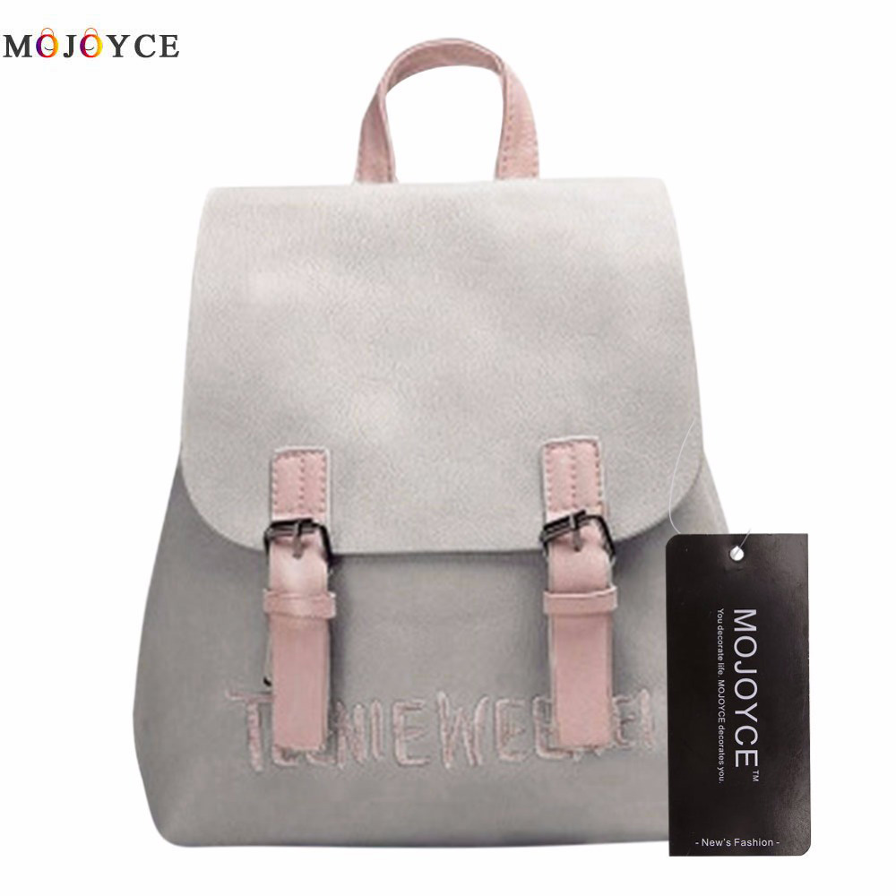 Brand Preppy Style School Backpacks Rucksack Women Leather Backpack Lady Travel Bag Mochila Feminina