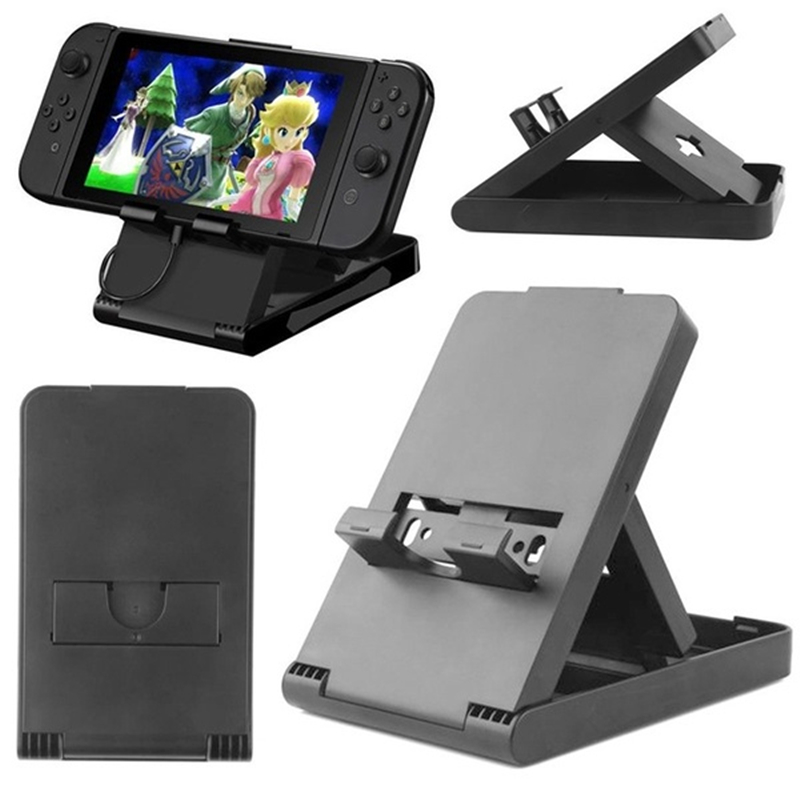 Foldable Game Console Stand Adjustable Portable Bracket Holder Special for Nintendo Switch Console